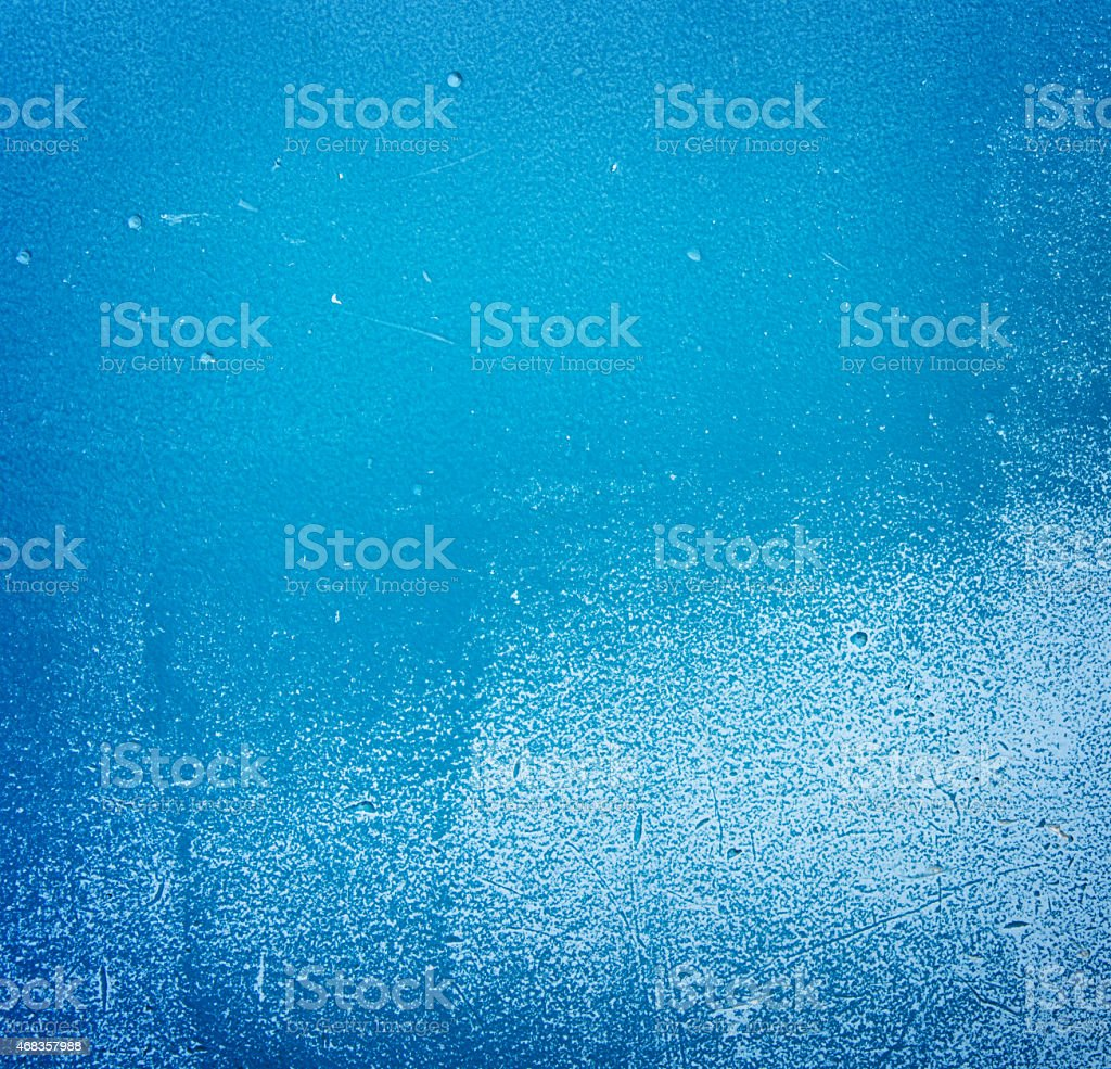 Pared de pintura azul foto de stock libre de derechos