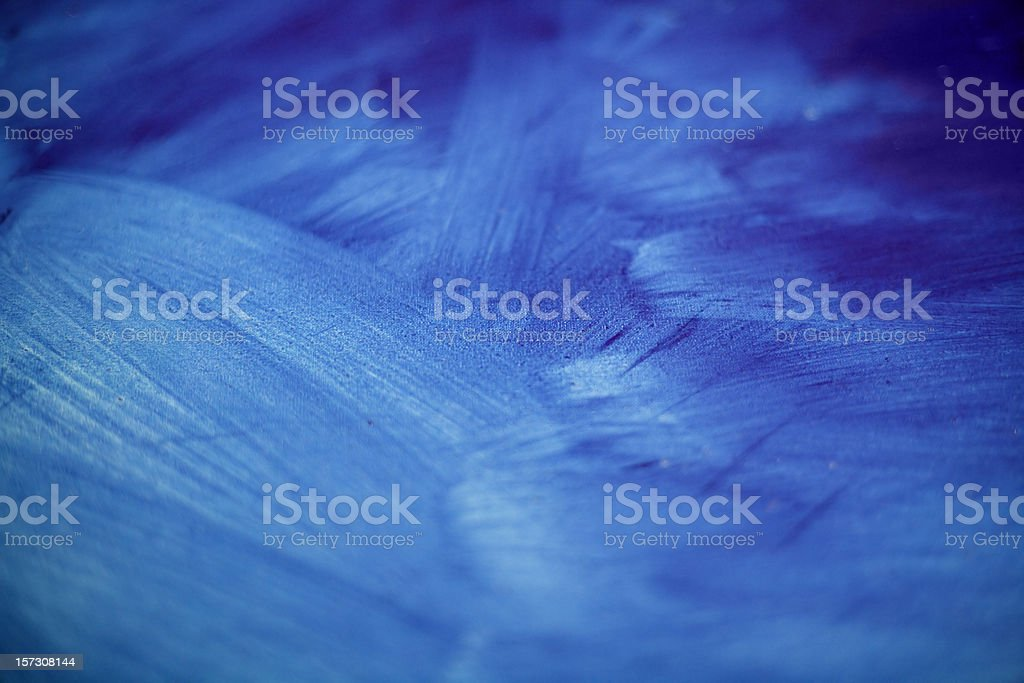 Blue painting stock photo