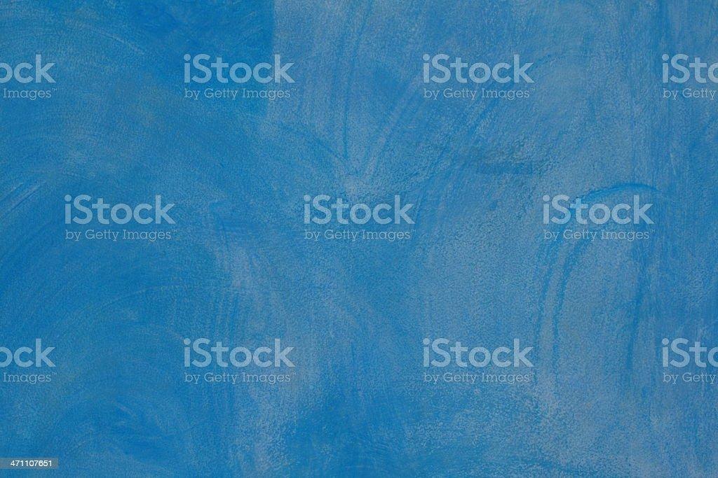 Blue Paintwashed Background royalty-free stock photo