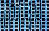 blue pallets stacked background pattern pile storage