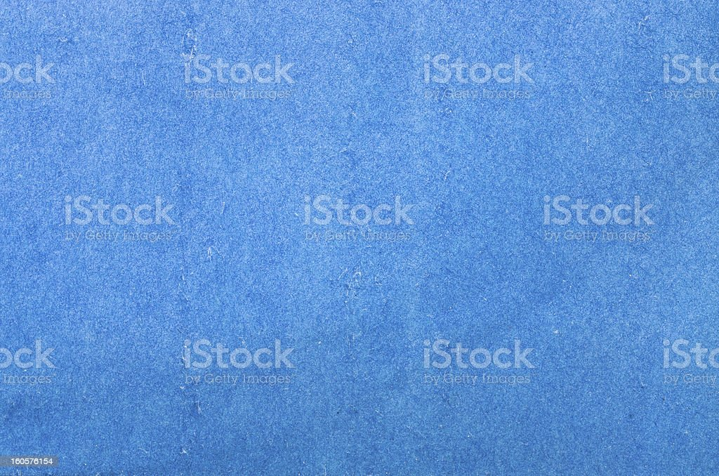 Blue paper or plaster texture royalty-free stock photo