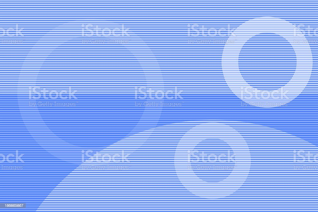 Blue Partiality royalty-free stock photo