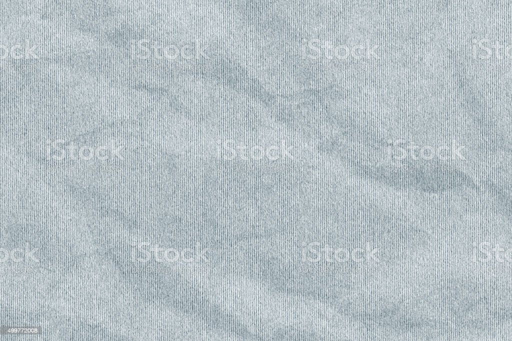 Blue Pastel Paper Striped Crumpled Grunge Texture stock photo