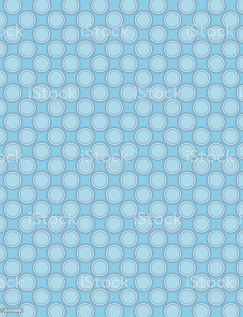 Blue Pastilles stock photo