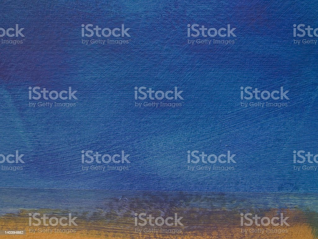 blue patina horizon royalty-free stock photo