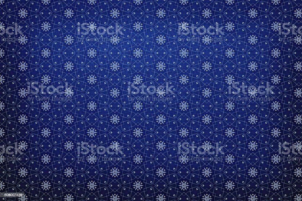 Blue pattern background stock photo