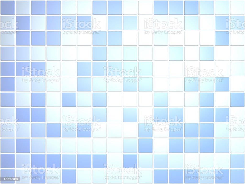 Blue Pattern I royalty-free stock photo