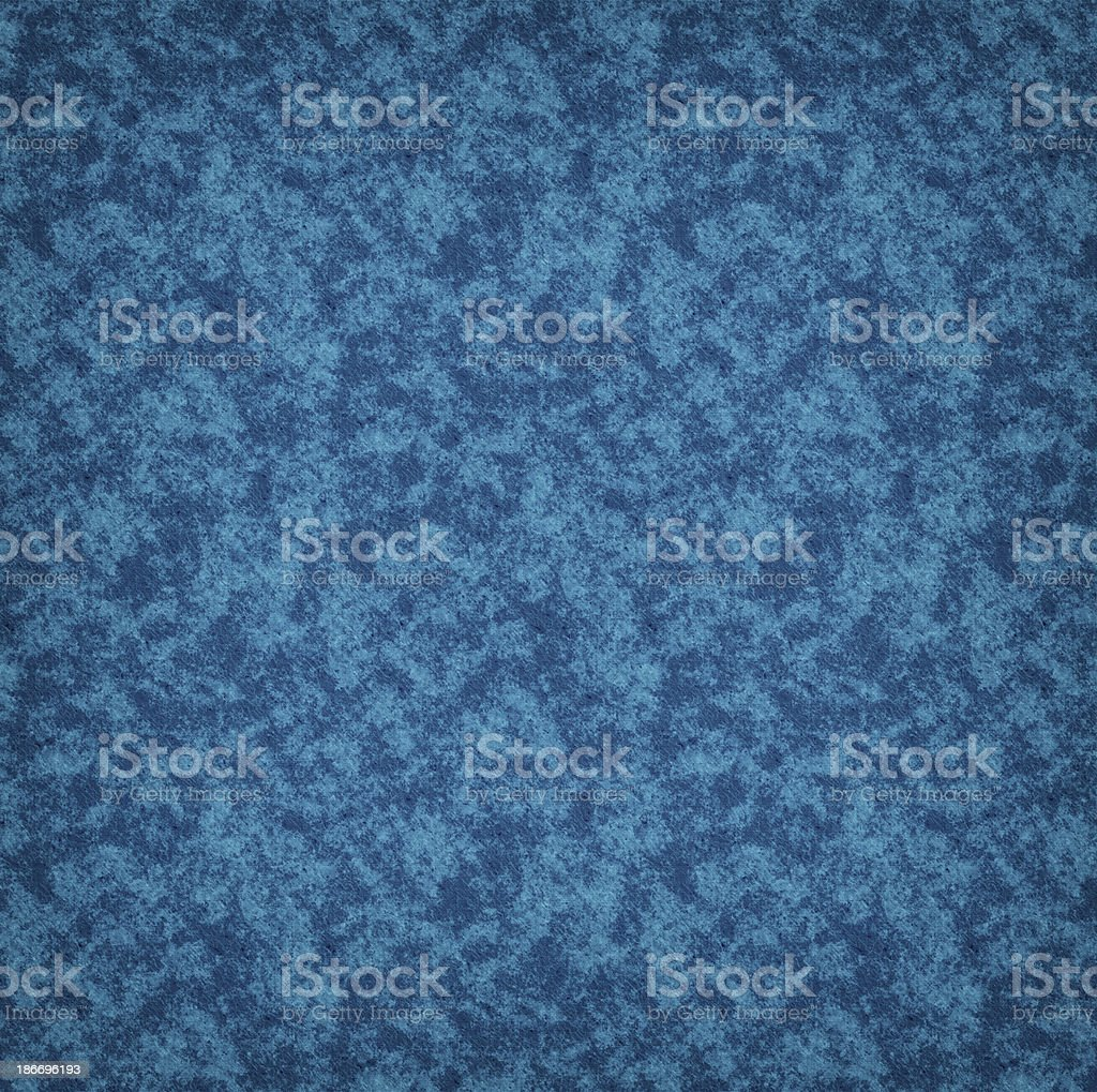 Blue Patterned Textile royalty-free stock photo