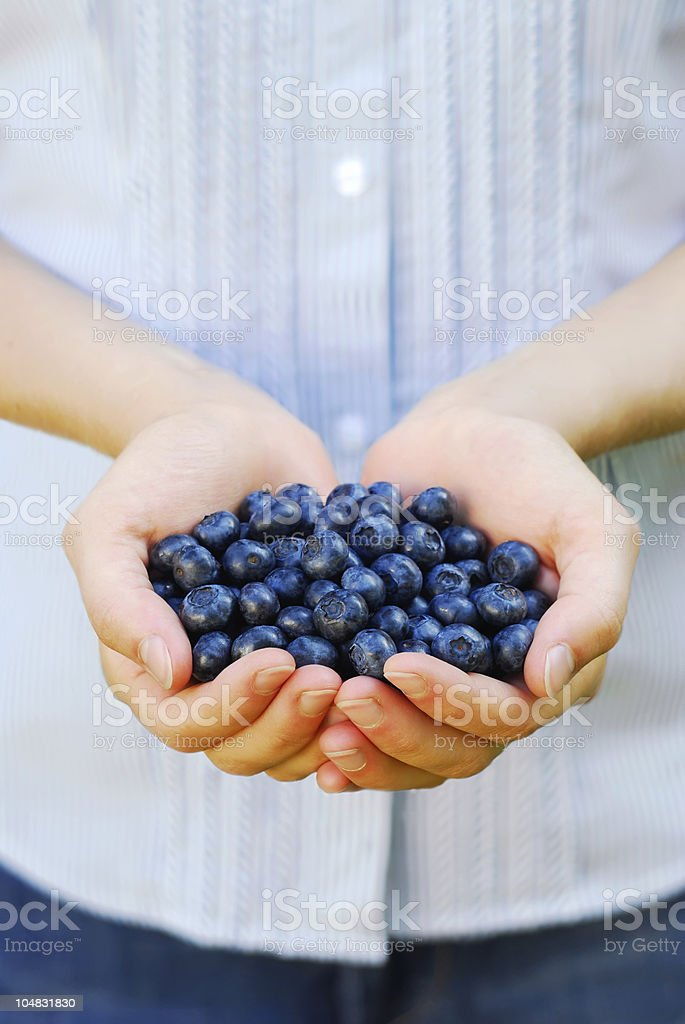 Blue royalty-free stock photo