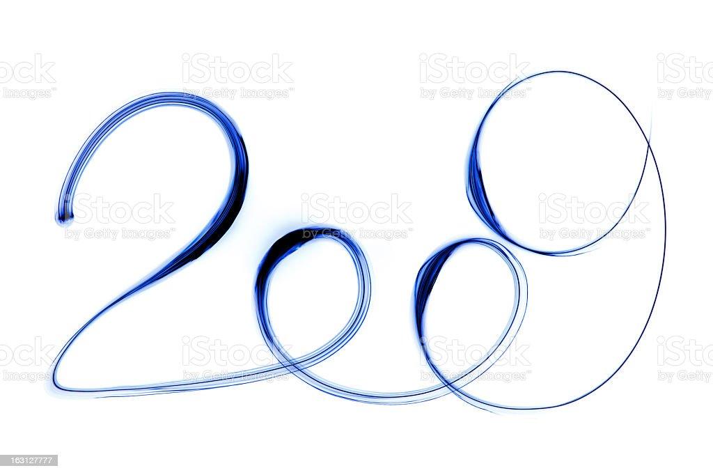 XXL 2009: Blue stock photo