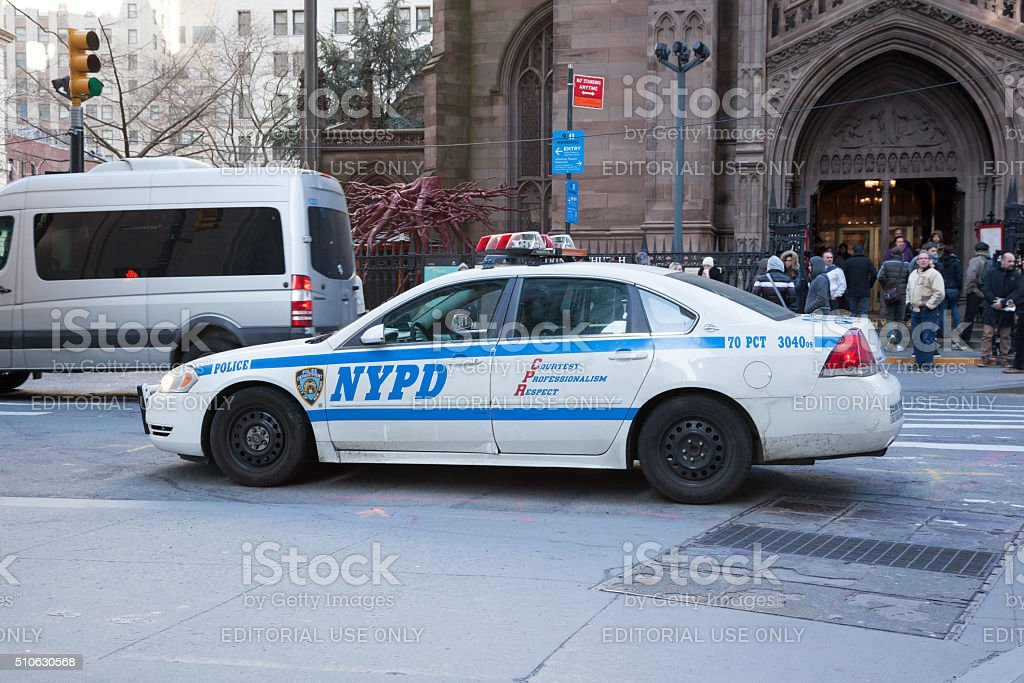 NYPD Blue stock photo