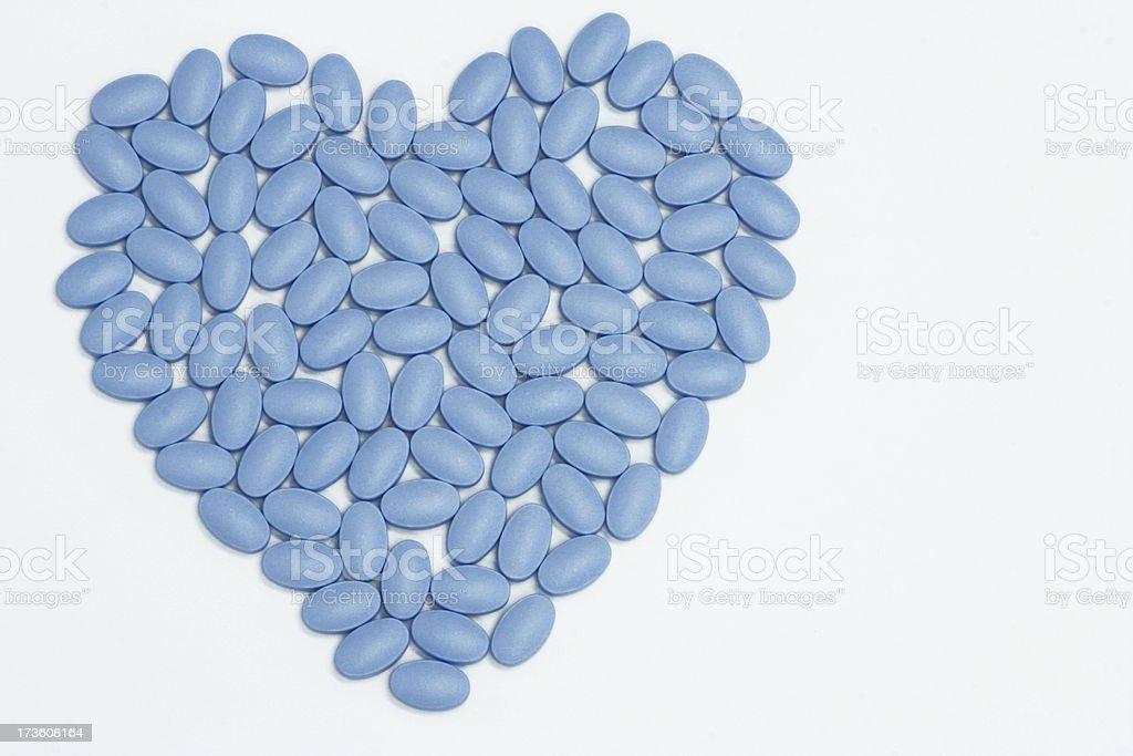 Blue Pills of Love stock photo