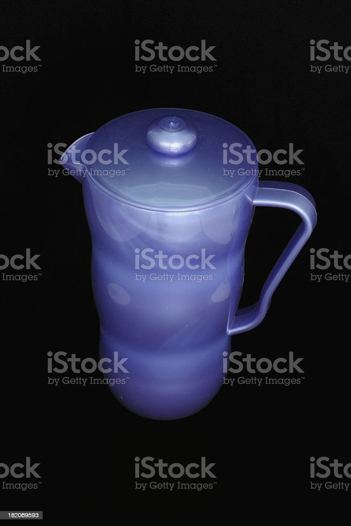 Blue Pitcher royalty-free stock photo