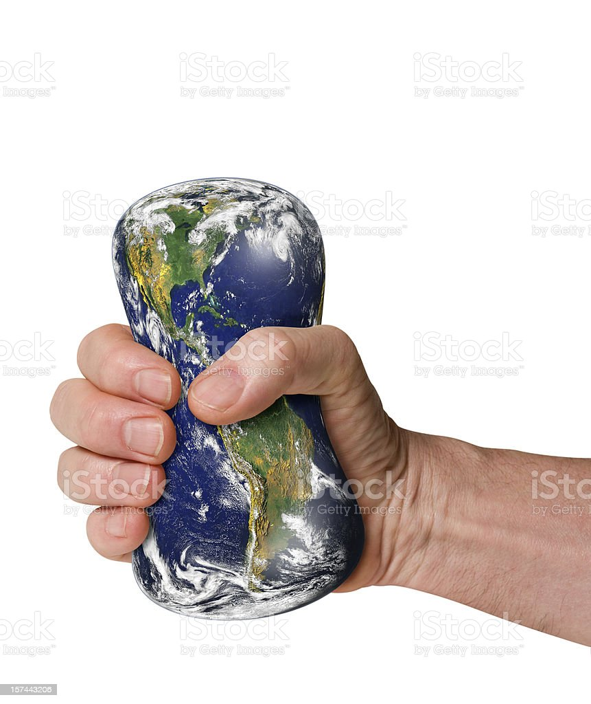 Blue Planet royalty-free stock photo