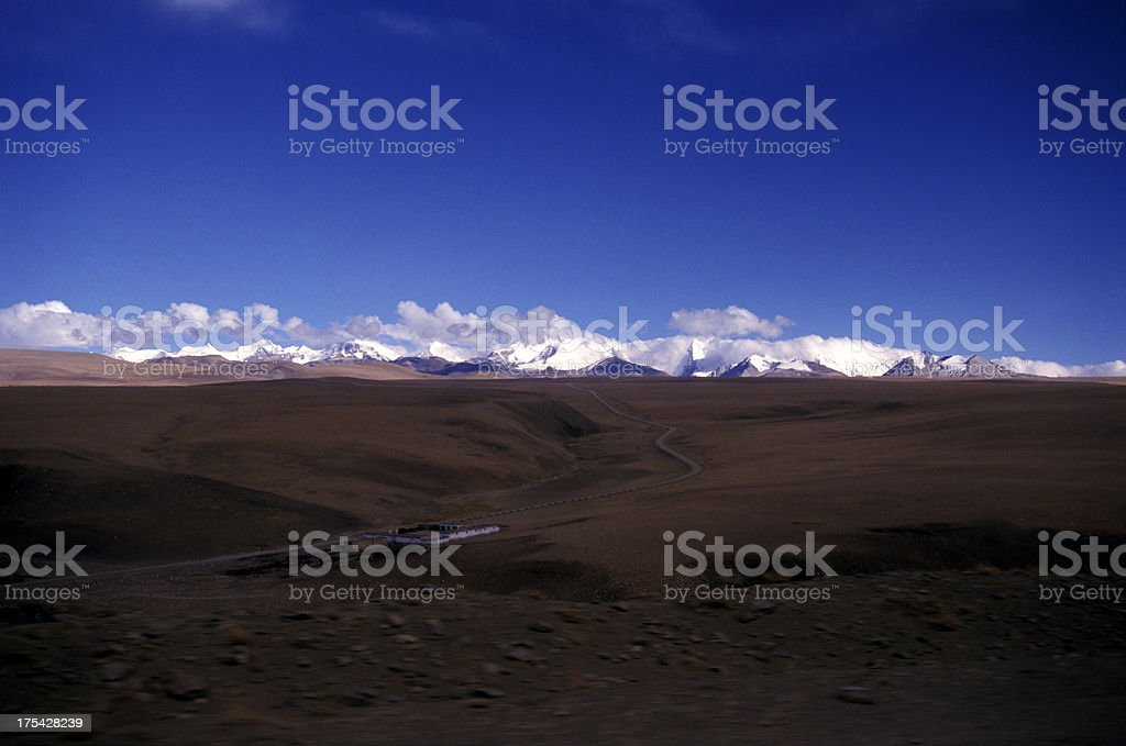 Blue Plateau stock photo