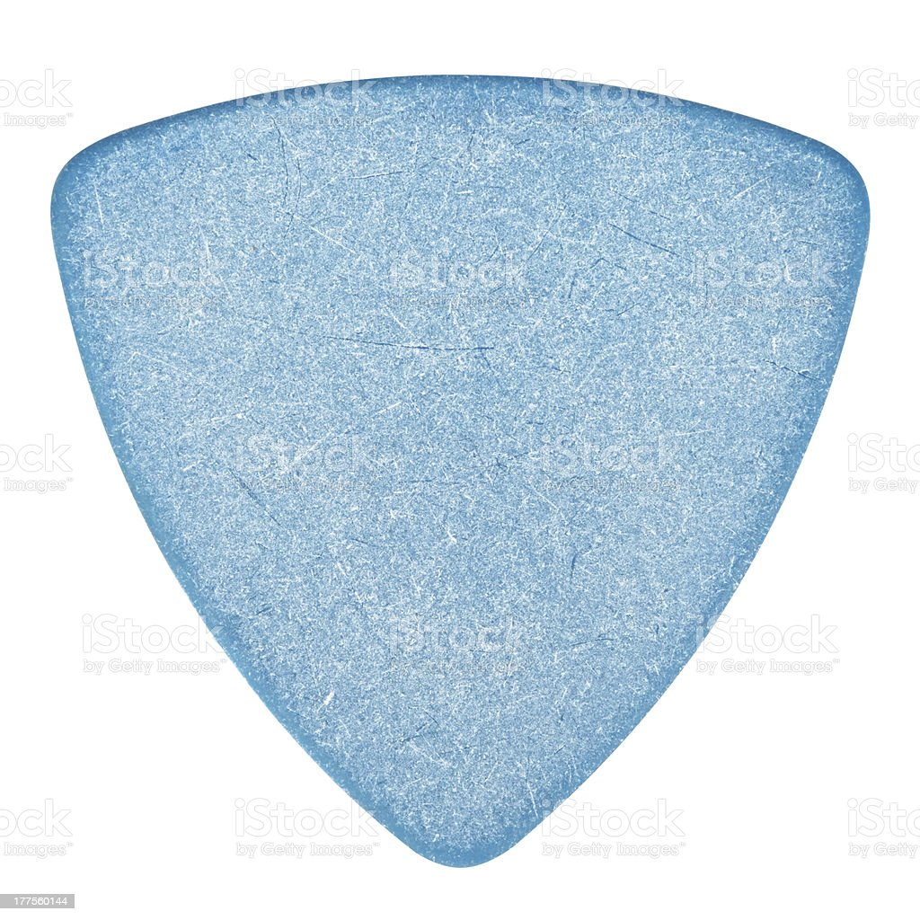 Blue Plectrum royalty-free stock photo