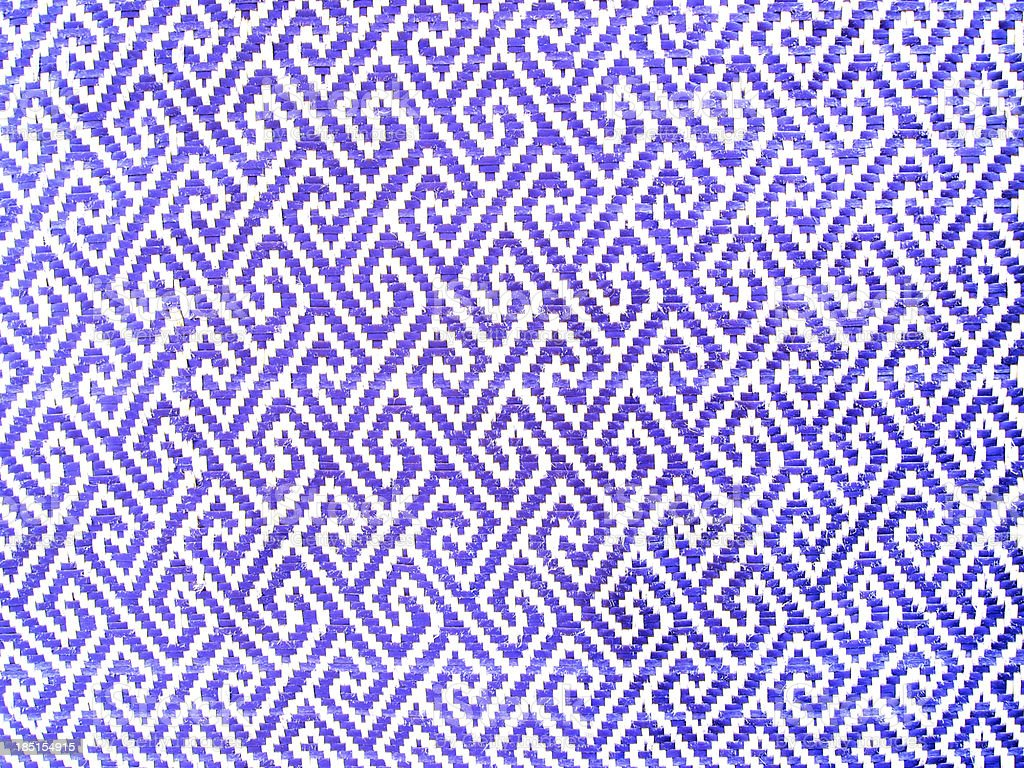 Blue polyester fabric texture royalty-free stock photo