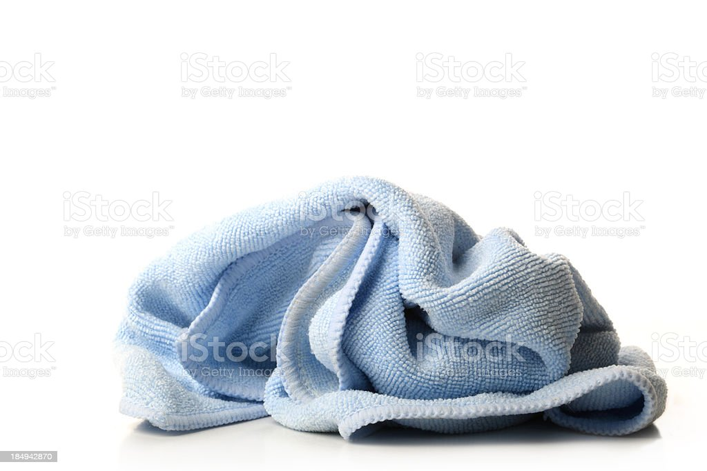 Blue Rag stock photo