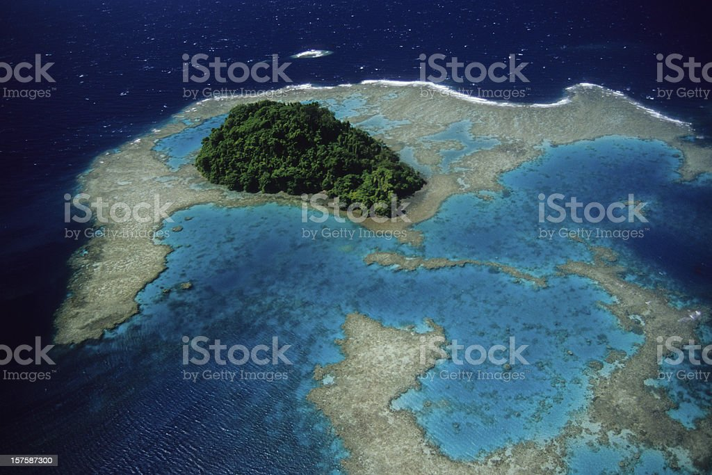 Blue Reef royalty-free stock photo