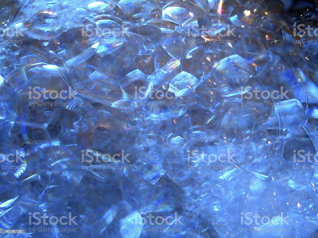 Blue Relections royalty-free stock photo