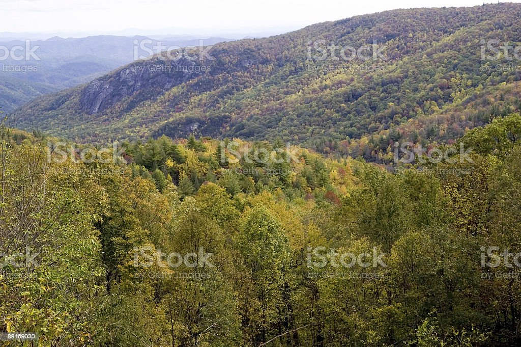 blue ridge autumn royalty-free stock photo