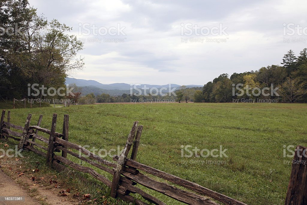 Blue Ridge Mountains Of Tennessee stock photo