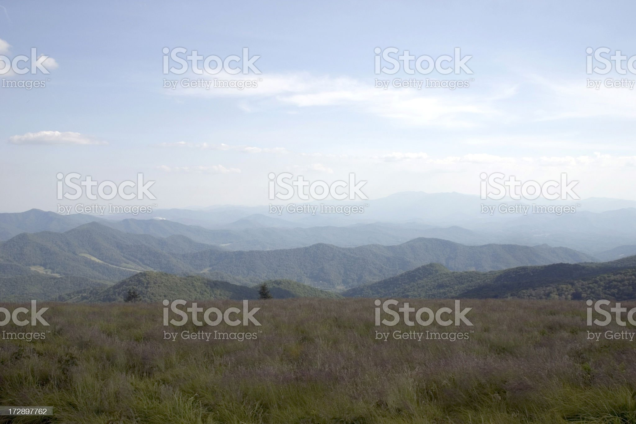 Blue Ridge Mountains royalty-free stock photo