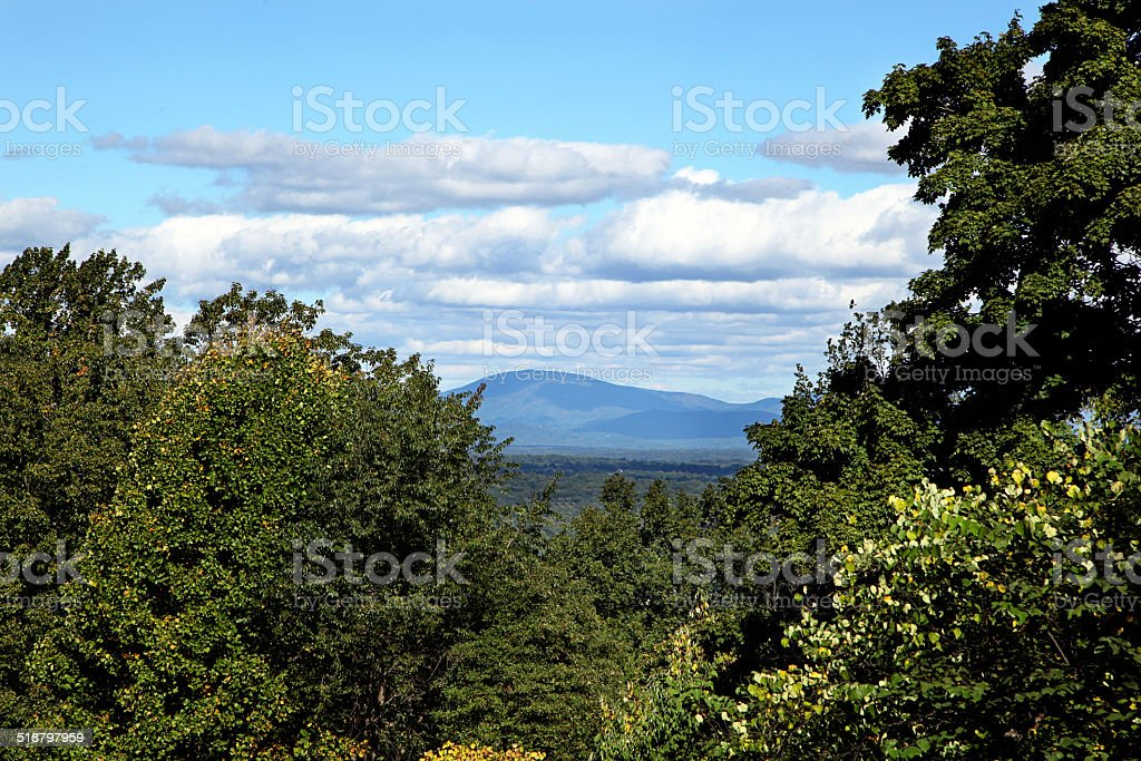 Blue Ridge Mountains stock photo