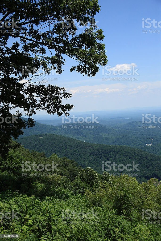 Blue Ridge Mountains - Virginia royalty-free stock photo