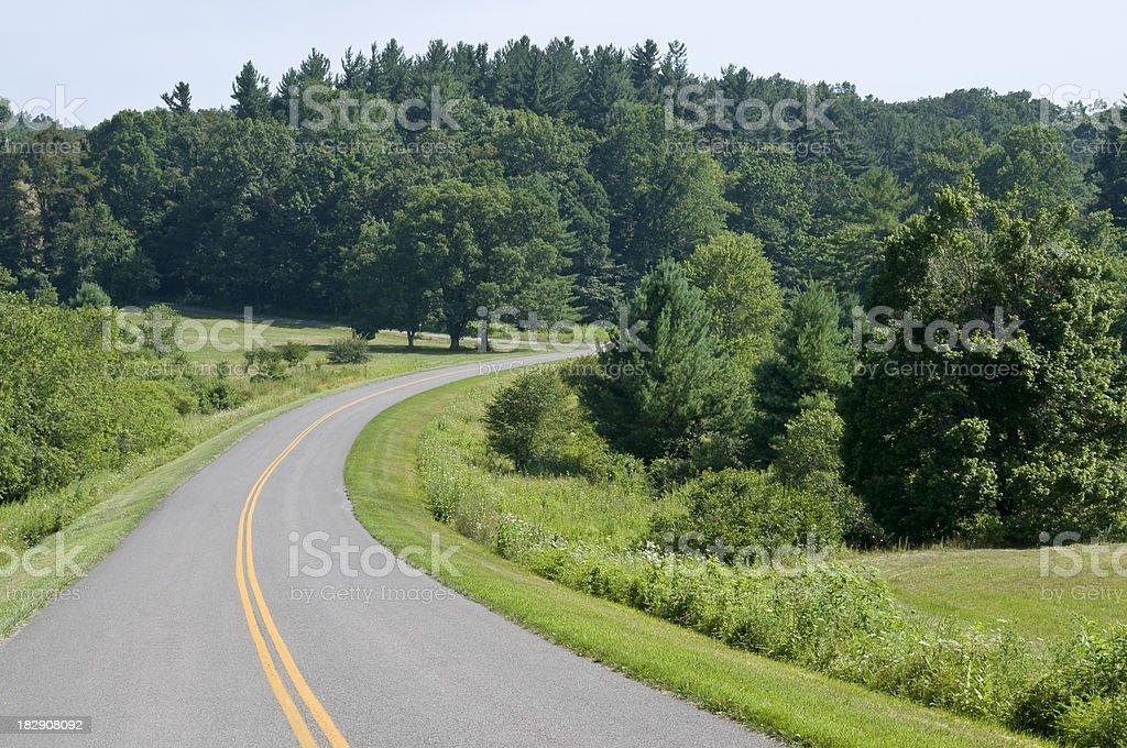 Blue Ridge Parkway royalty-free stock photo