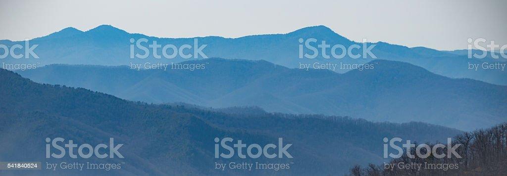Blue Ridge Parkway stock photo