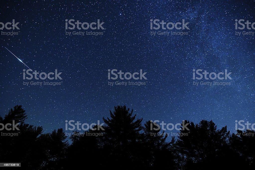 Blue Ridge Sky royalty-free stock photo