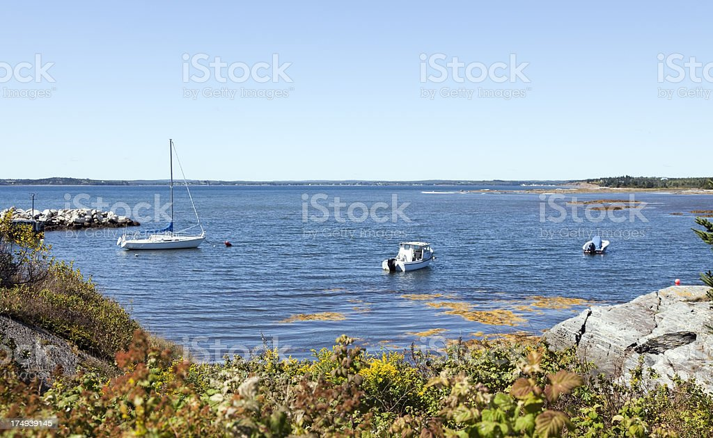 Blue Rocks royalty-free stock photo