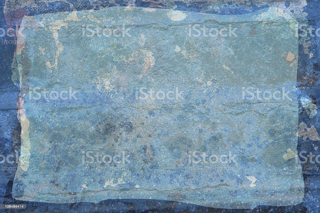blue rustic sheet royalty-free stock photo