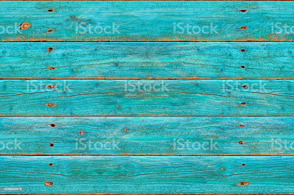 Blue Rustic Wooden Background (SEAMLESS) stock photo