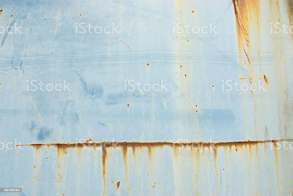 Blue & Rusty royalty-free stock photo