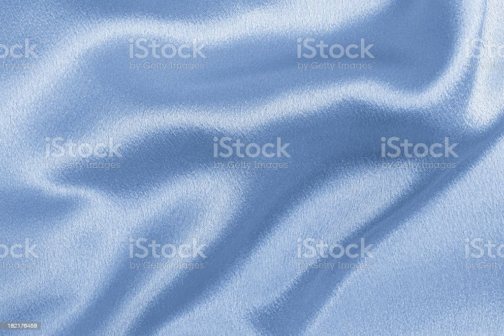 Blue satin background royalty-free stock photo