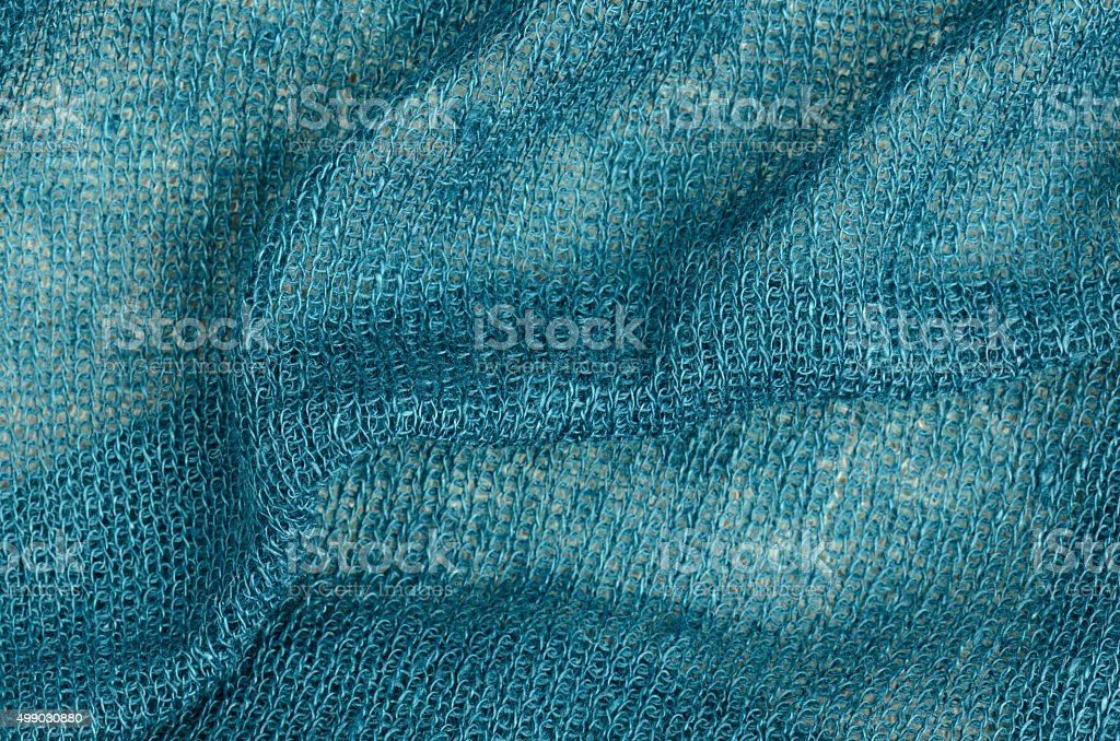 blue scarf background stock photo
