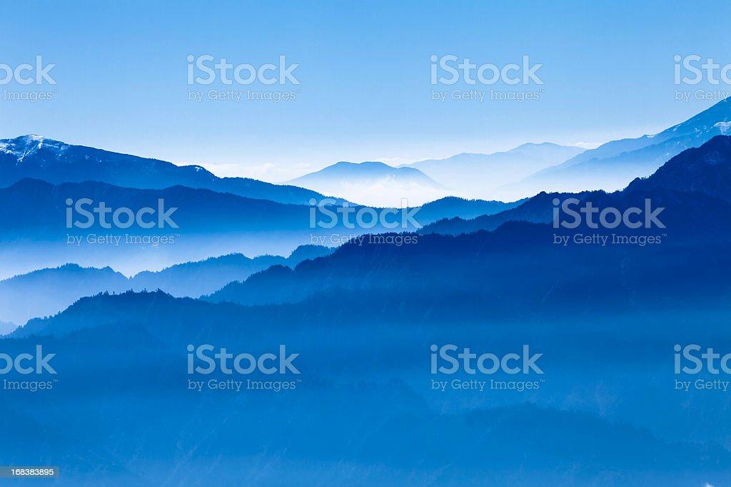 blue scenics stock photo