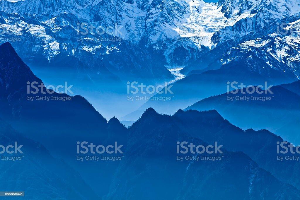 blue scenics royalty-free stock photo