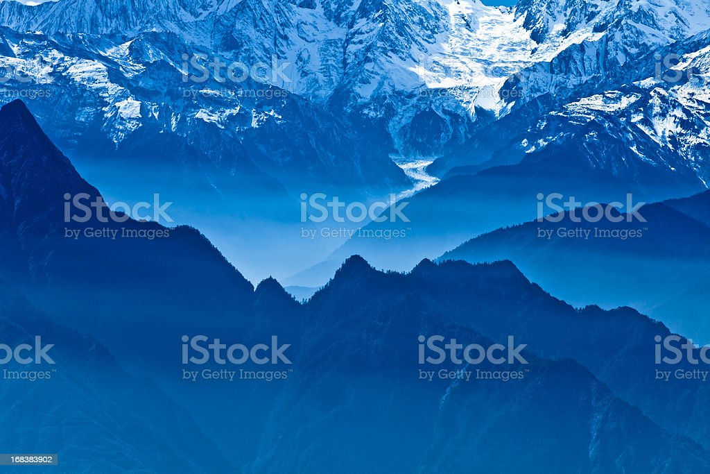 blue scenics stock photo