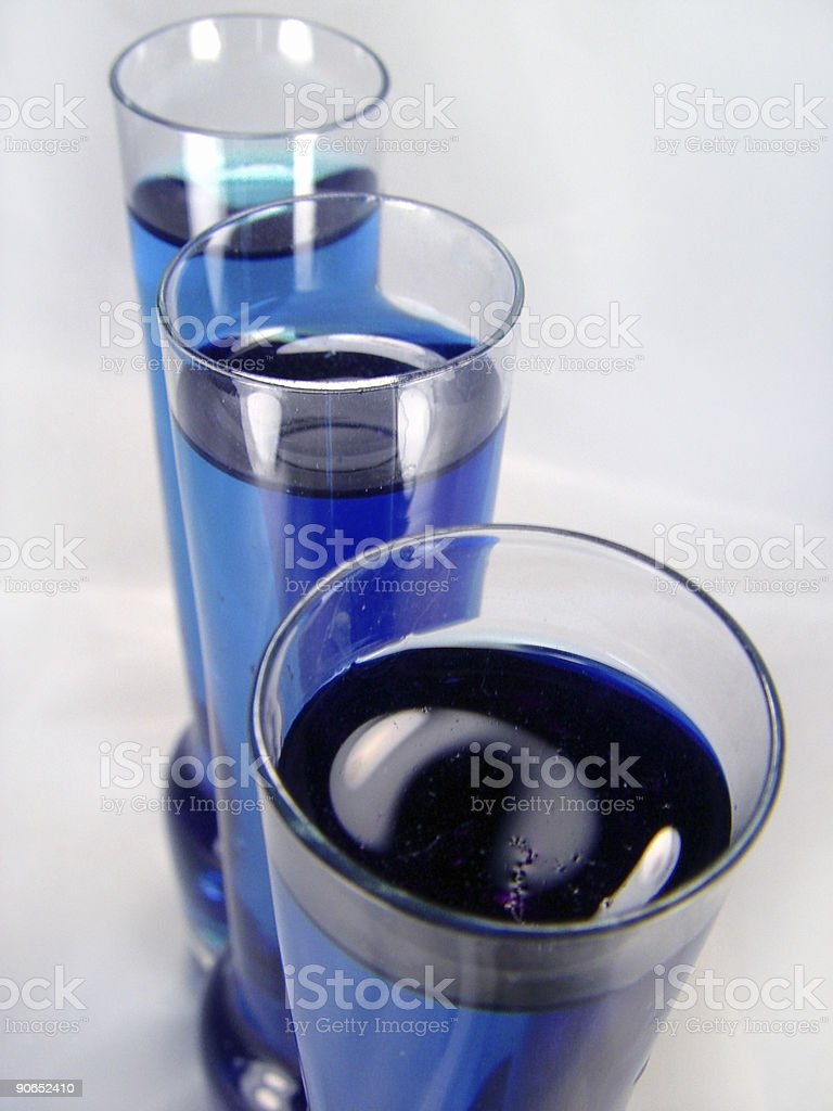 Blue Science royalty-free stock photo
