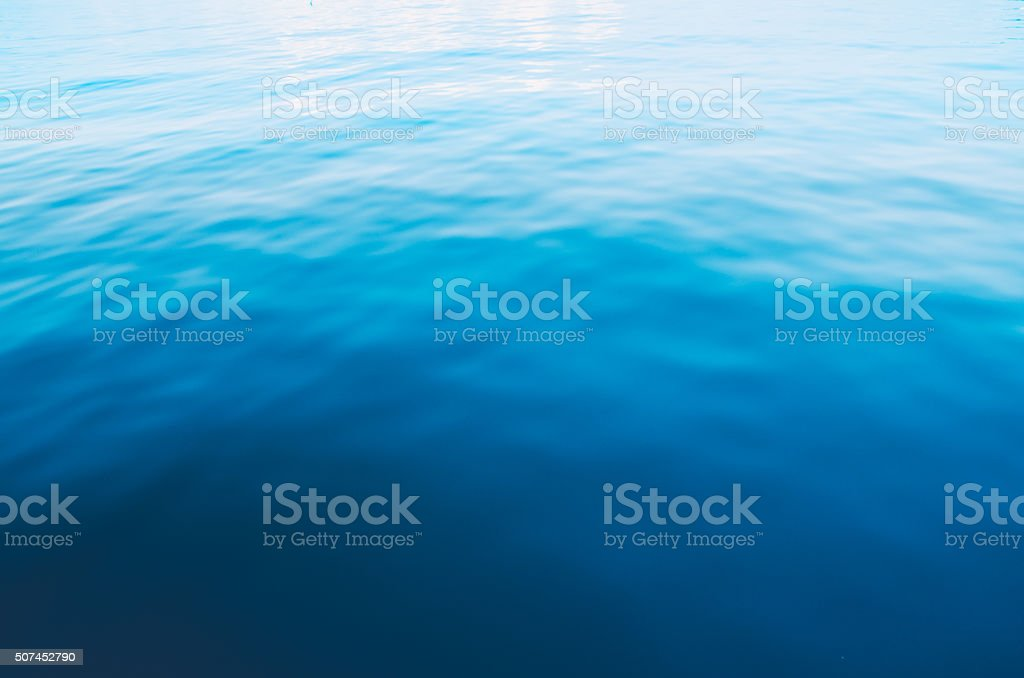 blue sea abstract background stock photo