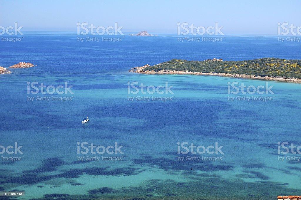 Blue Sea stock photo