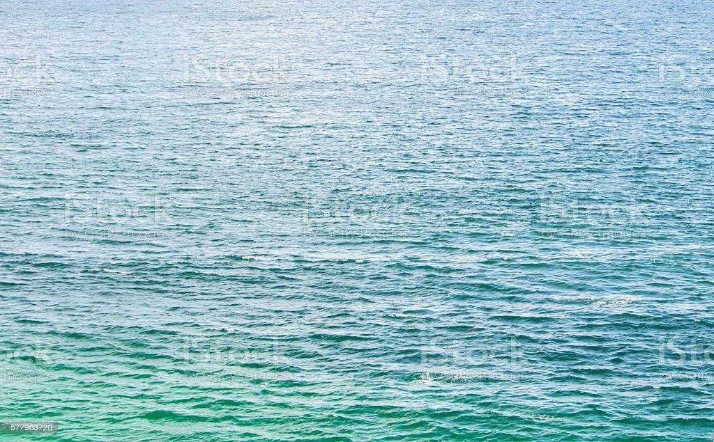 blue sea texture stock photo