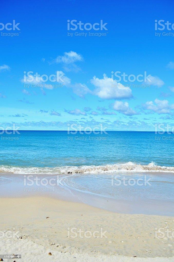 blue serene ocean royalty-free stock photo