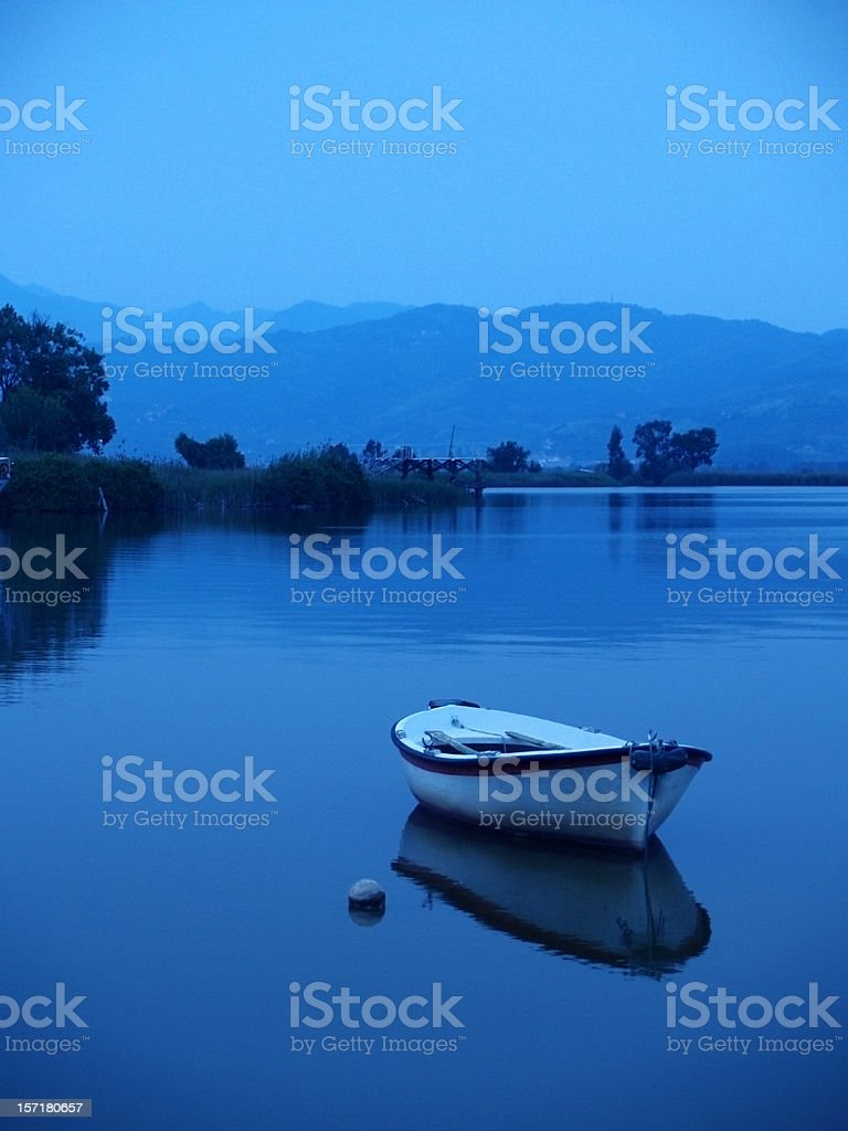 Blue Serenity royalty-free stock photo