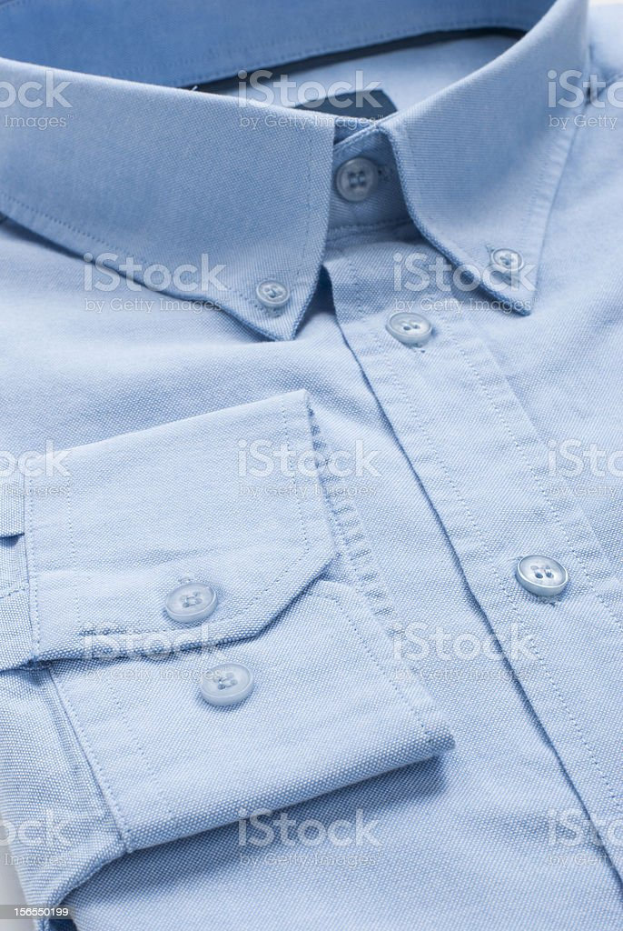 Blue Shirt royalty-free stock photo