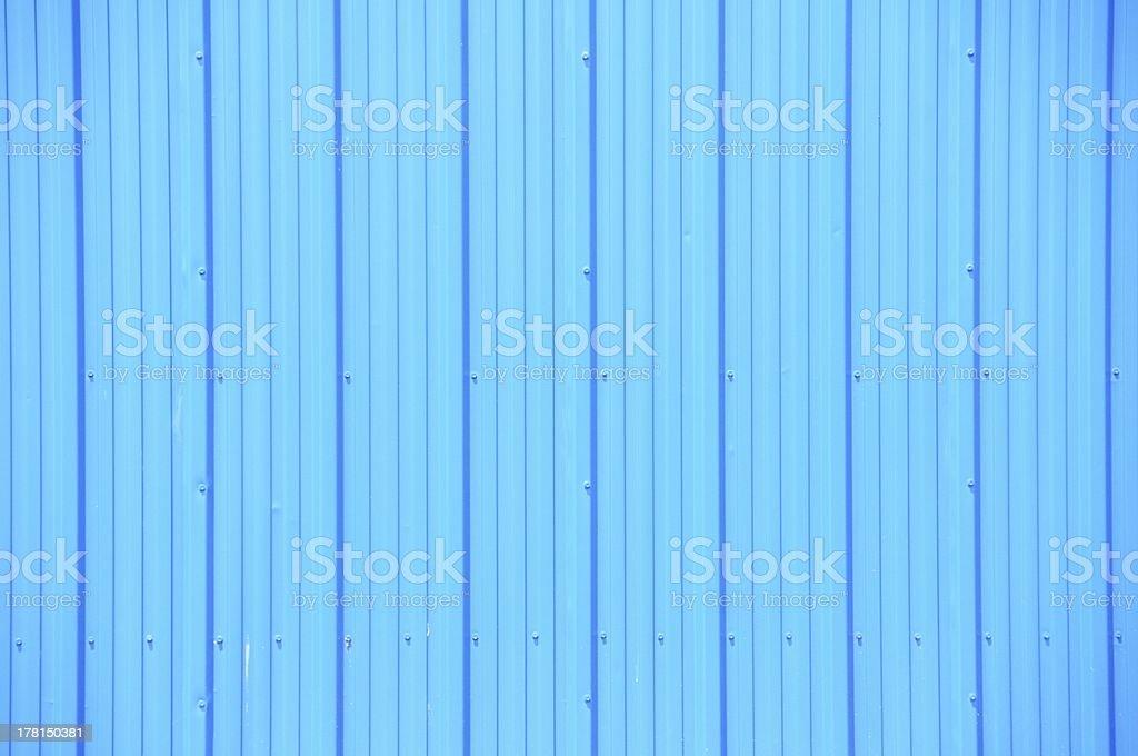 Blue Siding royalty-free stock photo