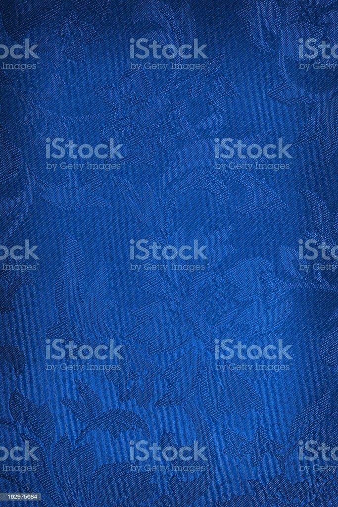 Blue Silk Background stock photo